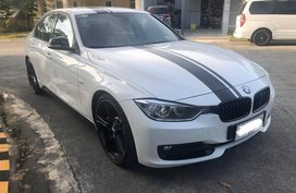 White BMW 328I 2015 for sale in Manila