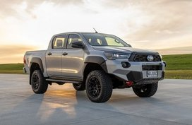2021 Toyota Hilux Mako is an angry looking truck