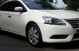 Pearl White Nissan Sylphy 2015 for sale in Paranaque City