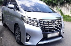 Sell Silver 2016 Toyota Alphard in Cebu City