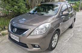 Silver Nissan Almera 2015 for sale in Las Pinas