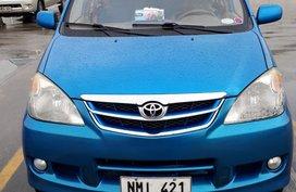 Blue Toyota Avanza 2008 Automatic for Sale in Malate, Manila