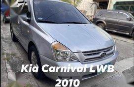 Sell Silver 2010 Kia Carnival in Las Piñas