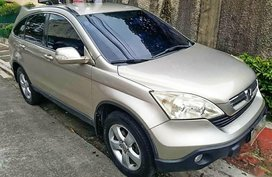 Silver Honda Cr-V 2007 for sale in Quezon City