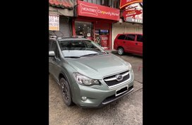Green Subaru XV 2015 for sale in Manila
