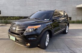 Selling Black Ford Explorer 2013 in Pasig