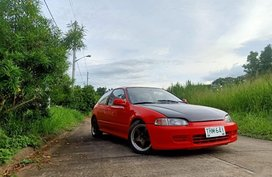 Red Honda Civic 1993 for sale in Antipolo