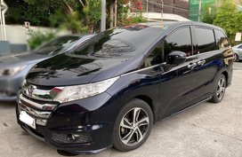 Black Honda Odyssey 2016 for sale in Pasig City