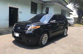 Black Ford Explorer 2014 for sale in Quezon City