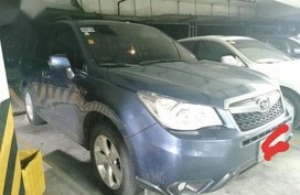 Selling Blue Subaru Forester 2013 in Manila