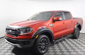 Exterior Color Hot Pepper Red is 2019 Ford Ranger Lariat 4D Crew Cab RWD --- Style Lariat SuperCrew