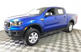 Exterior Color Lightning Blue Metallic is 2019 Ford Ranger XL SuperCrew 5' Box 2WD --- Style XL Supe