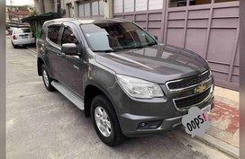 Selling Silver Chevrolet Blazer 2014 in Quezon City