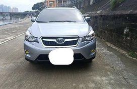 Silver Subaru XV 2013 for sale in Manila