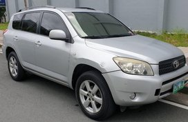 Silver Toyota Rav4 2007 for sale in Mandaluyong