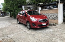 2019 Automatic Mitsubishi Mirage G4 GLX Red 4K kms Rush Sale