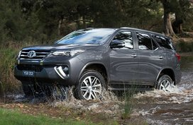Which Toyota Fortuner units are included in the fuel-pump recall?