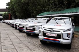 254 units of Mitsubishi Strada to be used for DepEd field inspections