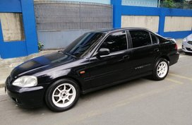 Selling Black Honda Civic 2000 in Quezon City