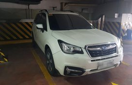 Sell Pearl White 2018 Subaru Forester in Manila