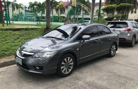 Selling Grey Honda Civic 2010 in Parañaque
