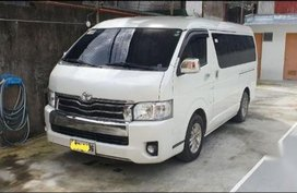 White Toyota Hiace Super Grandia 2015 for sale in Pateros