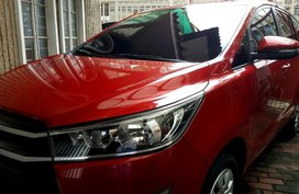 Sell Red 2018 Toyota Innova in Pasay City