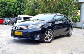 2015 Toyota Corolla Altis 1.6L V A/T Gas PRICE DROP!!