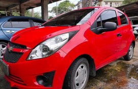 Selling Red Chevrolet Spark 2012 in Baguio
