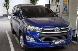 Sell Blue 2017 Toyota Innova in Quezon City