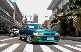 Green Toyota Corolla XE Limited 1995 in Imus City