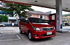 2014 Toyota Innova E AT Gas 498t Nego Batangas Area
