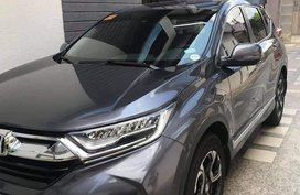 Black Honda Cr-V 2019 for sale in Quezon City