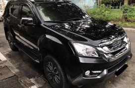 Black Isuzu Mu-X 2017 for sale in Antipolo
