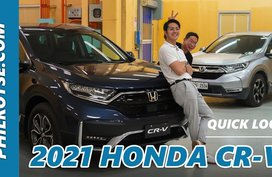 2021 Honda CR-V Facelift First Look Philippines: Spicing up the working recipe