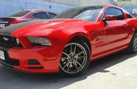 Sell 2014 Red Ford Mustang in Cebu