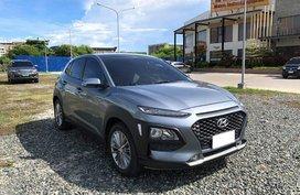 Selling Grey Hyundai Kona 2019 in Cebu
