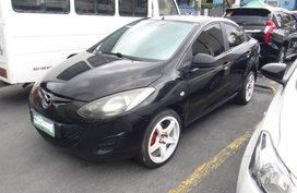 Black Mazda 2 2011 for sale in Manila
