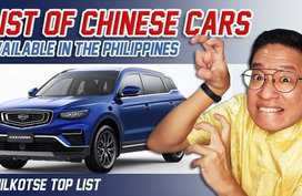 Chinese Cars You Can Buy in the Philippines   Philkotse Top List