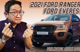 Facelifted 2021 Ford Ranger & Everest: The Blue Oval Dynamic Duo | Quick Look