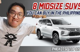 8 Midsize SUVs you can buy in the Philippines   Philkotse Top List