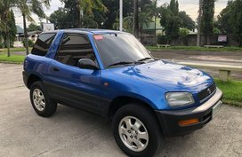 Blue Toyota Rav4 1997 for sale in San Fernando