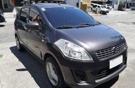 Black Suzuki Ertiga 2015 for sale in Manila