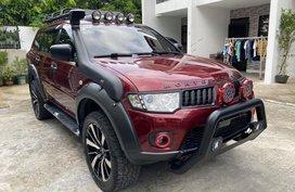 Red Mitsubishi Montero 2012 for sale in Marikina City