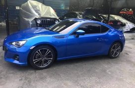 Selling Blue Subaru Brz 2013 in Manila