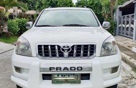 Sell White Toyota Land Cruiser Prado 2004 in Bacoor