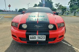 Sell Red 2014 Ford Mustang in Cebu