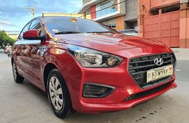 Reserved! Lockdown Sale! 2020 Hyundai Reina 1.4 GL With AVN Automatic Red 9T Kms Only K1N947