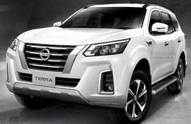 Leaked facelifted 2021 Nissan Terra images show Navara-like headlights