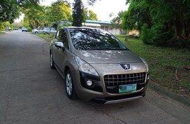 2012 Peugeot 3008 Diesel Automatic
